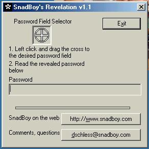 vedere le Password nascoste dagli asterischi