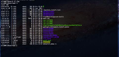 Mettere in sicurezza la cartella /tmp su linux