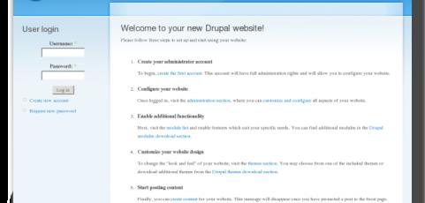 CMS: Drupal, fare siti web facilmente