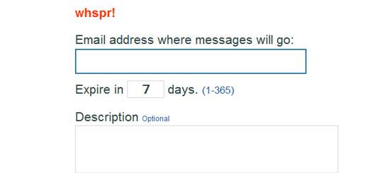 Nascondere indirizzo email